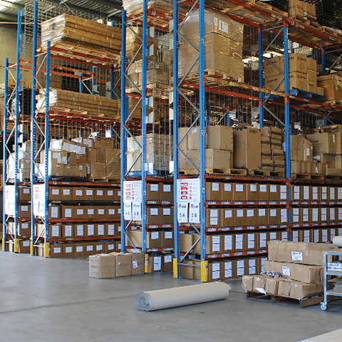 Warehouse and Distribution | Peak Marketing | Putting brands in people's hands